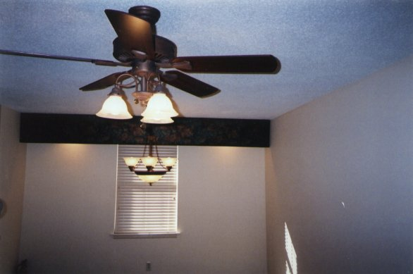 dining room ceiling fan : Kelli Arena